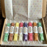 Handmade 100% Soya Wax Scented Snap Bar Box