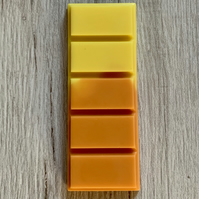Handmade Large Lemon & Orange Blossom Scented Snap Bar