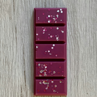 Handmade Large Cranberry Scented Snap Bar