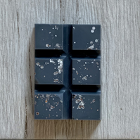Handmade Chunky Black Diamond Scented Snap Bar