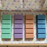 Handmade 100% Soya Wax Scented Large Snap Bar Box - Pick & Mix