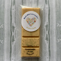 Handmade Large Golden Lady Scented Snap Bar