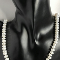 Knotted Cultured Pearl Necklace