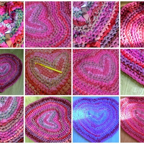 PATTERN FOR CROCHETED RAG RUG ? Free Crochet Patterns