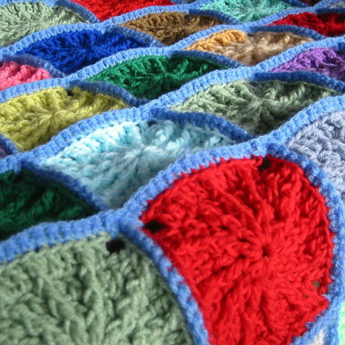 Crochet Afghan Patterns For Guys : MASCULINE AFGHAN PATTERN 2000 Free Patterns