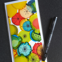 Blank greetings card - one of a kind