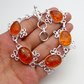 Pressed Amber Bracelet Ethnic Gemstone Jewellery DA10385