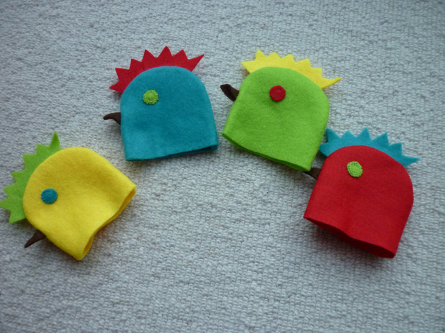 Set of Chicken Egg Cosies