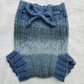 Hand Knitted Chunky Pure Wool Soaker.Cloth Nappies,Diapers.Lanolised.Small