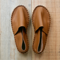 Bespoke Reclaimed Leather Espadrilles - Ethical Sustainable Handmade Shoes