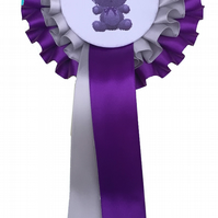 Double Tier Rosettes -  for your baby shower- various coloured ribbon available