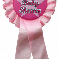 Single Tier Rosettes -  for your baby shower- various coloured ribbon available