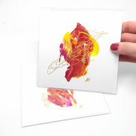 Painted Greeting Cards - Artistic Unique Cards