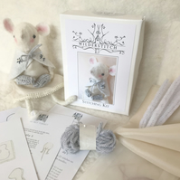 Secret Turret Stitching Kit - Caped Mouse