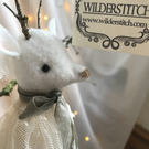 Snow Deer Hanging Christmas Decoration KIT