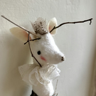 Snow Deer King Decoration