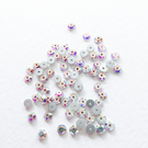 144 x 4mm AB coated Crystal Glass Sequins