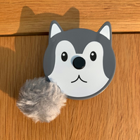 Tape Measure Wolf Husky