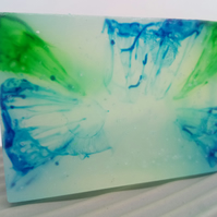 Glycerine Soap Made With Lime & Bergamot Essential Oils and Dead Sea Salts