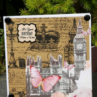 London birthday card