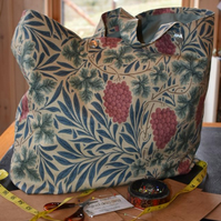 William Morris fabric shopper