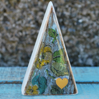 Handmade wooden Cath Kidston triangle ornament