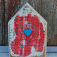Handmade Wooden House Decoupaged Cath Kidston Ornament