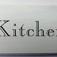 Shabby Chic Kitchen sign