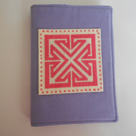 Celtic Design A6 Notebook with Reusable Cover