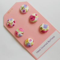 15mm Hand Covered Buttons