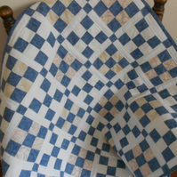 Patchwork Quilt,  Snuggle Quilt ,Traditional Design