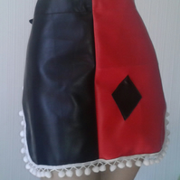 Harley inspired leatherette pinny apron