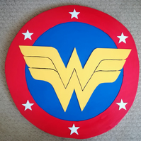 foam cosplay 1970s wonder woman shield