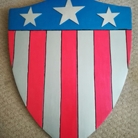 1940s captain america cosplay shield
