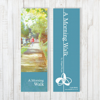 A Morning Walk Bookmark - Free UK Delivery