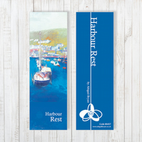 Harbour Rest Bookmark - Free UK Delivery