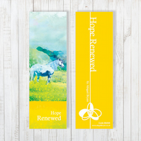 Hope Renewed Bookmark - Free UK Delivery