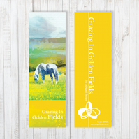 Grazing In Golden Fields Bookmark