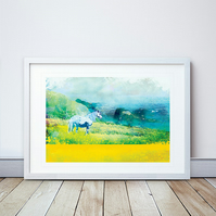 Hope Renewed Giclee Mounted Print