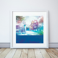 50 High Street, Nantwich Giclee Mounted Print