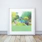 The Path Of Summer Giclee Mounted Print