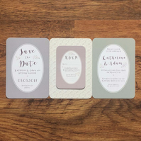 Julia Wedding Invitation Sample Pack