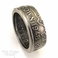 1948 1958 and many more years, birthday coin ring