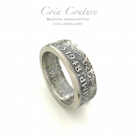 Born in 1958 - Personalized birth year ring