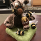 Needle felted Bear with bees