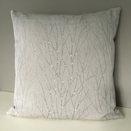 Cushion - Silver branches