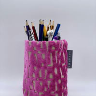 Tin Can Cosy - Pink Velvet