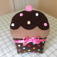 Fleece CupCake Cushion