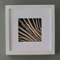 Driftwood Picture with Deep White Box Frame