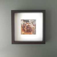 Rusty Bolt Head - Up Close Coast Framed Photograph